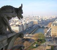 Vuelos a París: Vista aerea de París desde la Catedral de Notre Dame